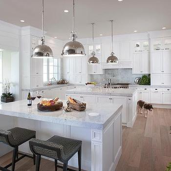 Two Islands In Kitchens Design Ideas