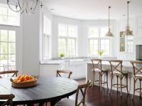 Kitchen Sink In Bay Window - Transitional - Kitchen