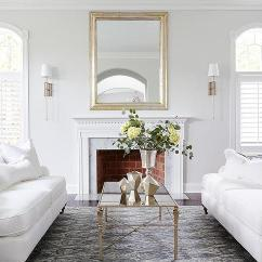 Beachy Sofas What Does Scs Sofa Insurance Cover White With An Antiqued Mirrored Coffee Table ...