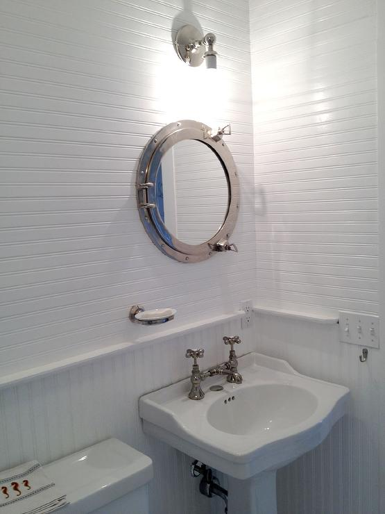 Porthole Medicine Cabinet  Cottage  Bathroom
