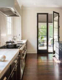 Kitchen French Doors Design Ideas