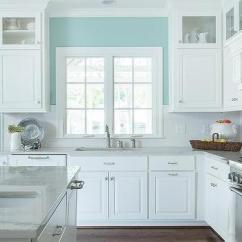 Kitchen Walls Ventilation Fans Half Painted Design Ideas Turquoise