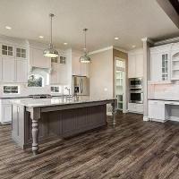 Freestanding Grey Kitchen Island Design Ideas