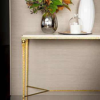 Marble Top Console Table Design Ideas