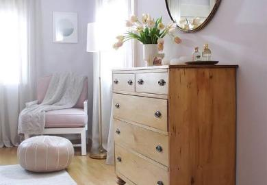 Light Purple Bedroom Decor