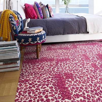 Ambrosia Magenta Carpet Tile