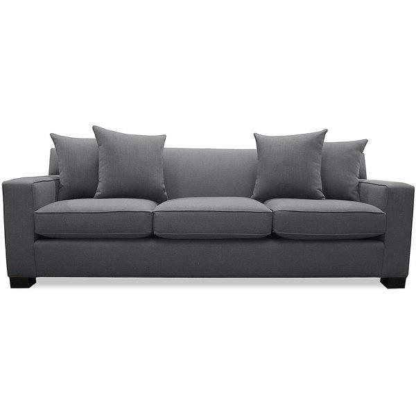 Cassandra Premium Grey Linen Sofa