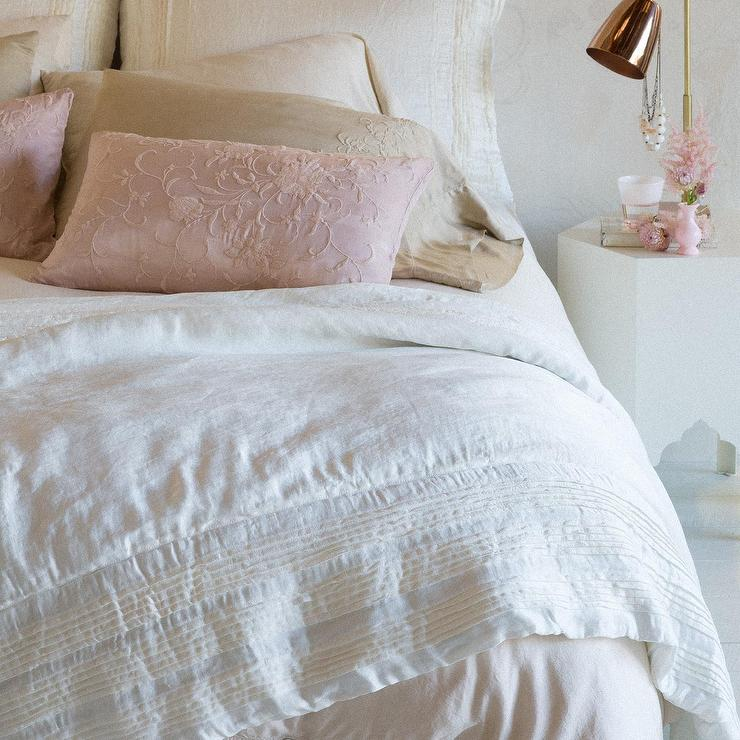 Elementary DownFree Striped Comforter  Garnet Hill