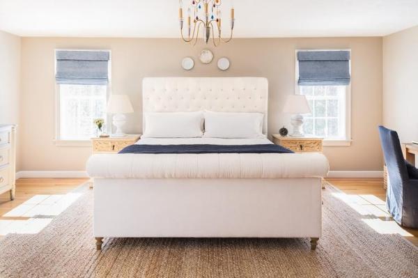 blue and cream bedroom Blue and Cream Bedroom Design
