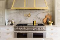 White Marble Alternatives - Transitional - kitchen - Sarah ...