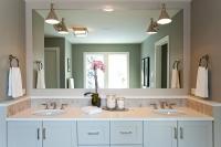 Bathroom Mirror And Sconces