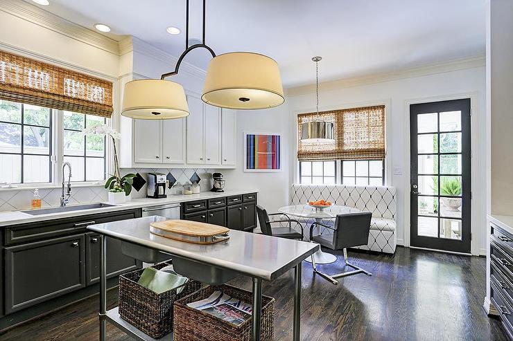 Tuxedo Kitchen Cabinets  Contemporary  Kitchen