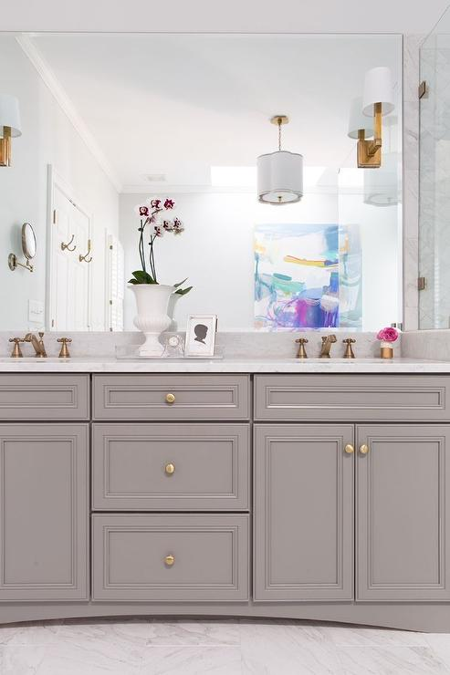 White Porcelain Marble Like Countertop  Contemporary