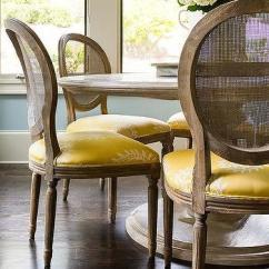 Bentwood Cane Seat Chairs Green Fishing Chair Round Dining Table With White Back - Cottage Kitchen Benjamin Moore ...