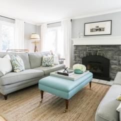 Gray Blue Living Room Rugs For Rooms Sale And With Bench As Coffee Table Transitional
