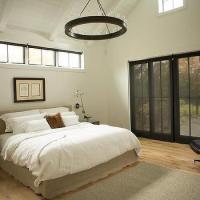 Bedroom Cathedral Ceiling Chandelier Design Ideas