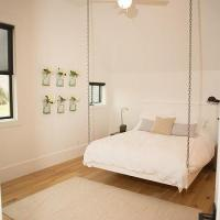 Hanging Plank Bed Design Ideas