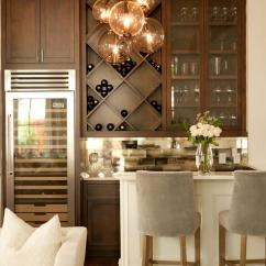 Wine Rack In Living Room Interior Design Ideas For Rooms India Bar With Mirrored Backsplash Contemporary