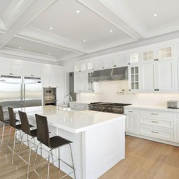 blonde kitchen cabinets blue countertops white wood floors design ideas island with dark barstools