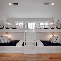 Built In Bunk Bed Staircase Design Ideas