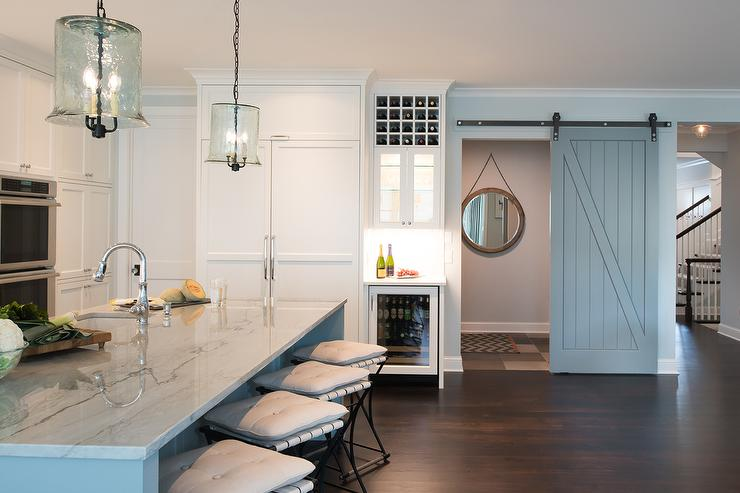 kitchen window treatments above sink wholesale faucets gray powder room barn doors on rails - transitional