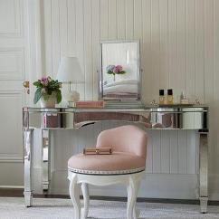 Pink Vanity Chair Solid Oak Dining Table And Chairs Uk Blush Stool Design Ideas Mirrored With