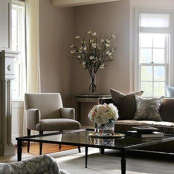 living room design ideas with brown leather sofa colors for rooms gray and glass coffee table view full size