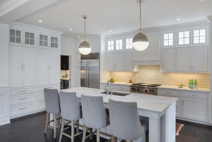 L Shaped Kitchen Island Seating