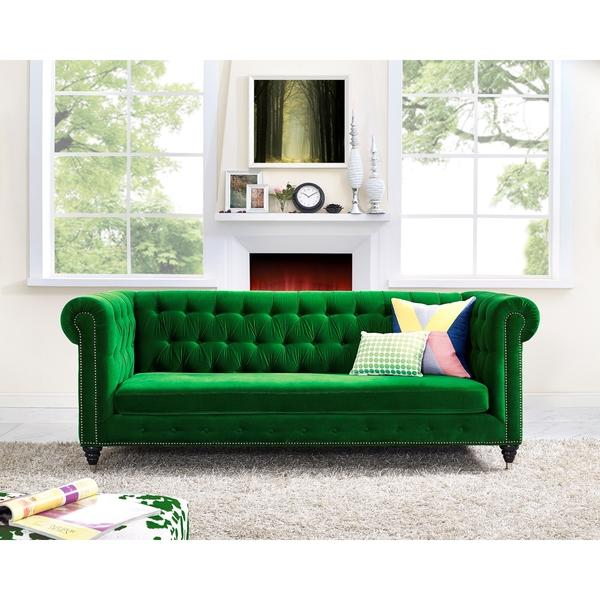 Naples Green Sofa