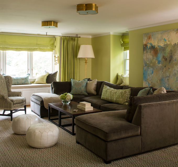 grey linen tufted sofa white leather austin tx brown and turquoise living room design ideas