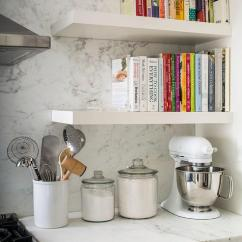 White Kitchen Aid Food Truck Equipment Yellow Kitchenaid Mixer Design Ideas Fabulous Features A Stacked Floating Cookbook Shelves Suspended Over