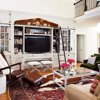 media center living room small designs photos built in design ideas white with ladder view full size fantastic