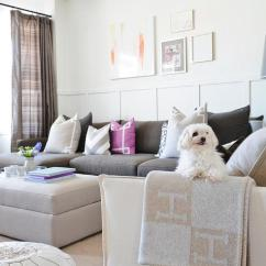 Ikea Pink Desk Chair Little Girl Table And Set Gray Walls - Transitional Living Room Pratt Lambert Moire Meredith Heron Design