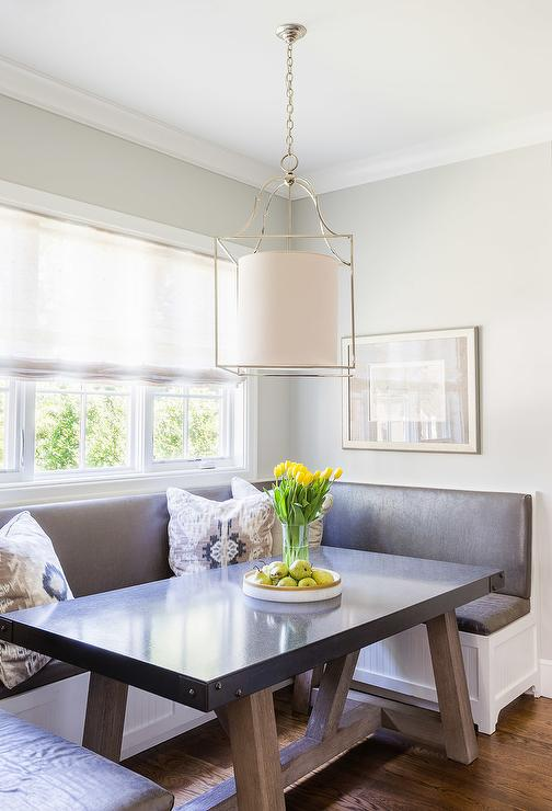 Transitional Breakfast Nook Design Decor Photos