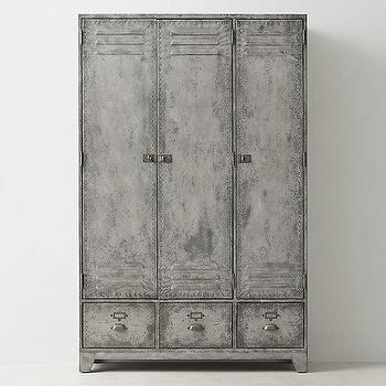 Vintage Lockers Pottery Barn