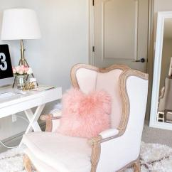 World Market Desk Chair Plastic Mats Josephine With French Contemporary Lovely Home Office Features A Auvergne Wood Traditional Accent Lined West Elm Mongolian Pillow Blush Paired