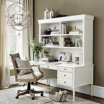 Catalina Storage Desk  Small Hutch  Pottery Barn Kids