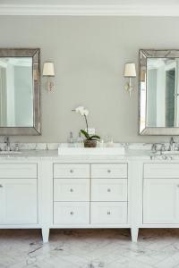 Venetian Beaded Mirror - Traditional - bathroom ...