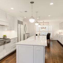 Long Kitchen Light How Much Does It Cost To Replace Cabinet Doors Island With Hudson Valley Lighting Lambert Pendant