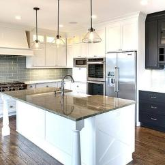 Refacing Kitchen Cabinets Cost Shower Invitations White With Gray Glass Backsplash And Granite ...