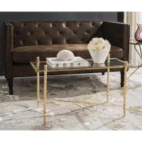 Regina Andrew Furniture Mosaic Gold Leaf Cocktail Table I ...