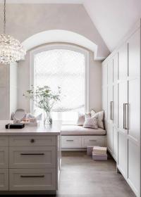 Foyer Window Seat - Transitional - entrance/foyer - Wayne ...