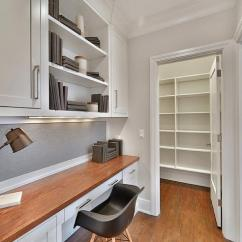 Kitchen Desk Cabinet Restoration By Walk In Pantry Transitional