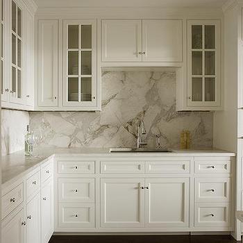 Gray Cabinets  Transitional  kitchen  Mueller Nicholls