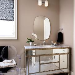 White Cushion Chair Office Accessories In Singapore Borghese Mirrored Bathroom Vanity Design Ideas