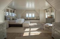 White Bamboo Bed - Cottage - bedroom - Tom Stringer