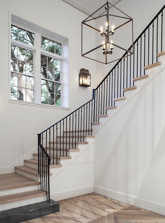 Iron Railing Design Ideas   Glass And Chrome Banisters   Designer   Wooden Glass   Frosted Glass   Oak   Contemporary
