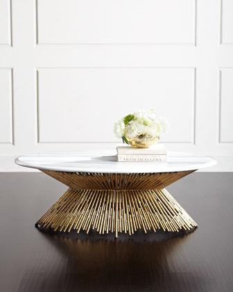 Gold Ambella Sunset Coffee Table