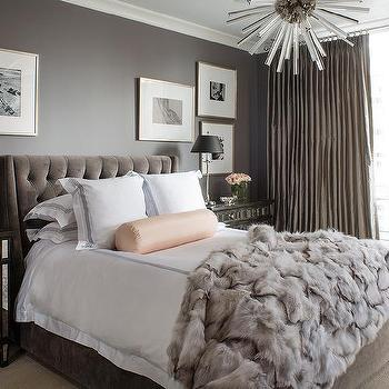 grey and purple living room curtains looking for furniture rustic glam bedroom design ideas