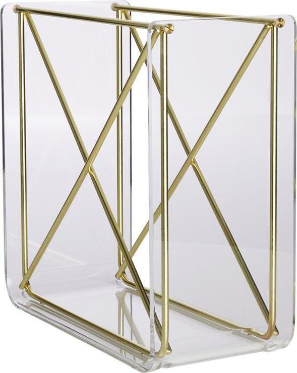 gold karl stacking wine rack